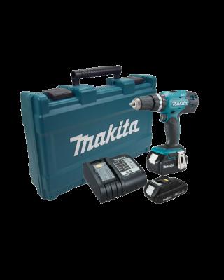 MAKITA Cordless klopboor-/schroefmachine DHP453SYE
